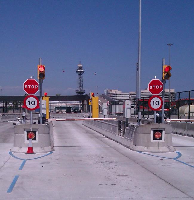 Terminal de Grimaldi en Barcelona