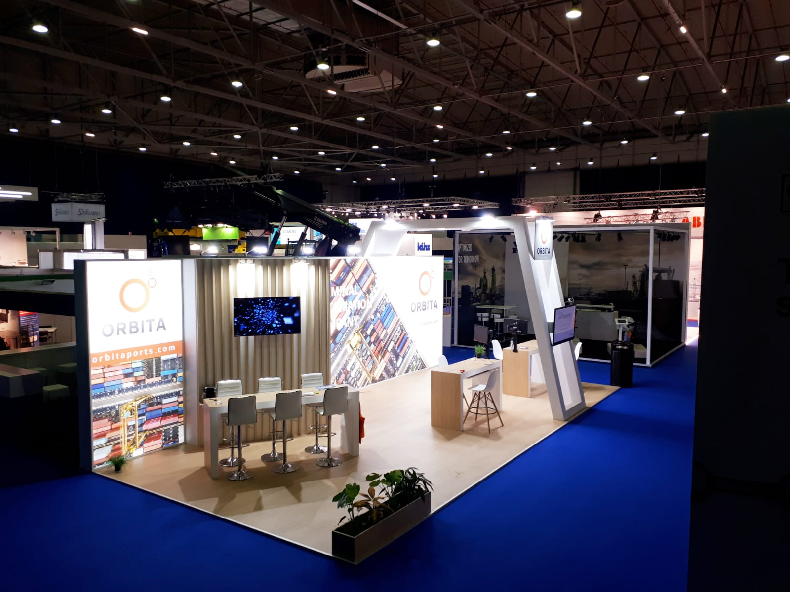 Stand TOC Europe 2018 Meeting area
